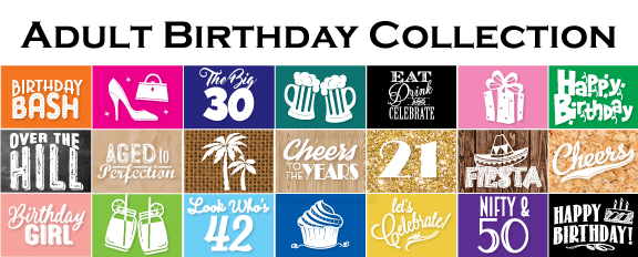 NEW Adult Birthday Party Favors